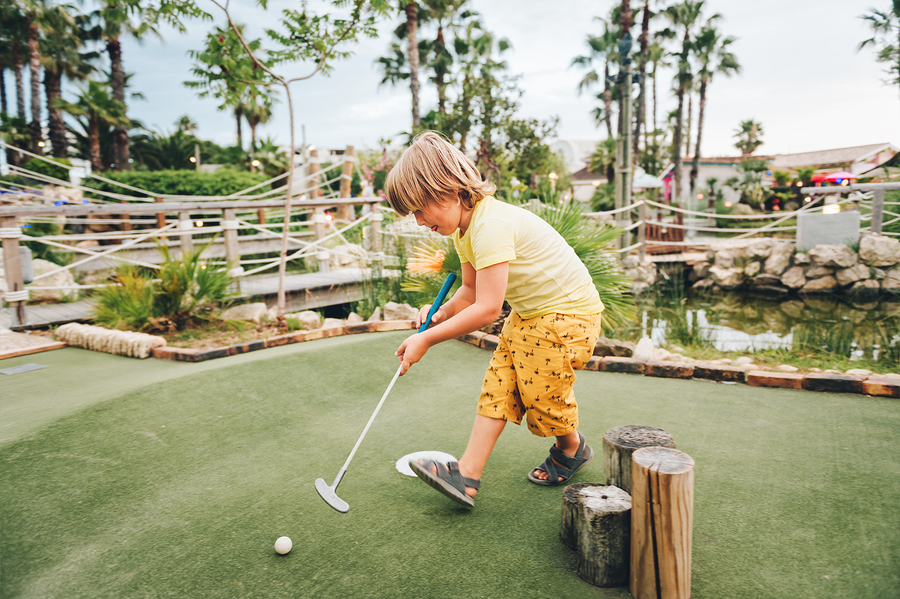 Crazy Golf - Holidays in Florida