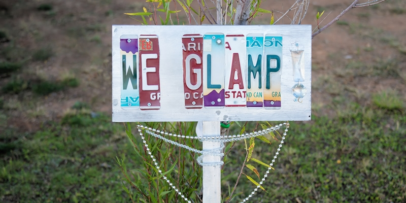 Glamp up your Camp - DIY Glamping